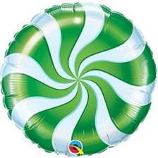 "18"" Green Candy Swirl"