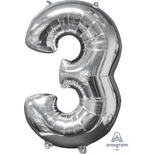 """34"""" Silver 3"""