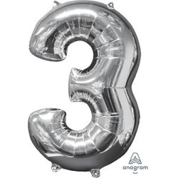 """36"""" Silver 3"""