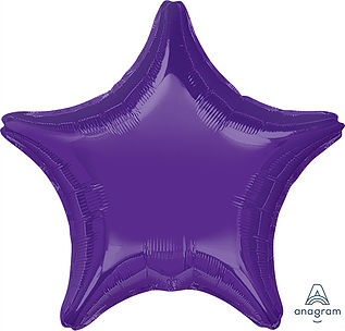 "18"" Purple Star"