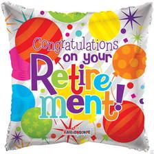 """18"""" Congrats Retirement"""