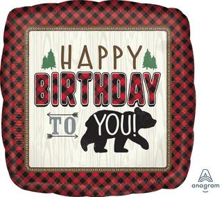 "18"" Lumberjack Birthday"