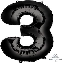 """34"""" Black 3"""