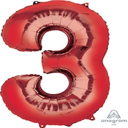 """34"""" Red 3"""