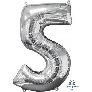 """34"""" Silver 5"""