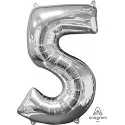 """36"""" Silver 5"""