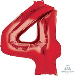 """34"""" Red 4"""