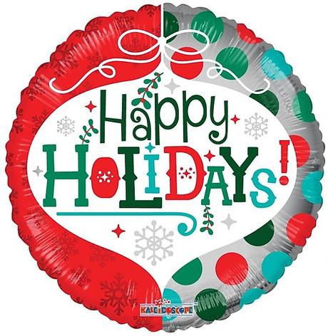 """18"""" Happy Holidays"""