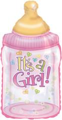 """33"""" It's A Girl Bottle"""