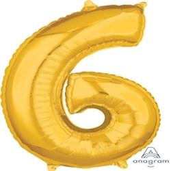 "34"" Gold 6"
