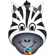 41805-14-inches-Airfill-Only-Zany-Zebra-