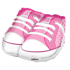 """18"""" Pink Baby Shoes"""