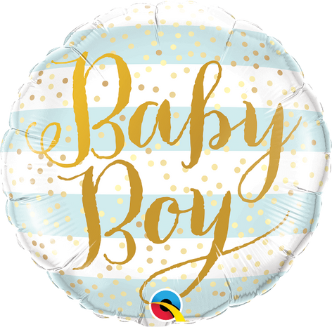 "18"" Baby Boy Stripes"