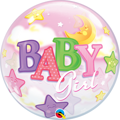 "22"" Bubble - Girl Moon"