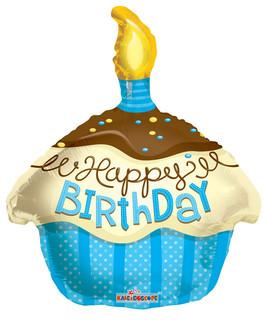 "18"" Blue Cupcake"