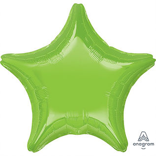 "18"" Lime Green Star"