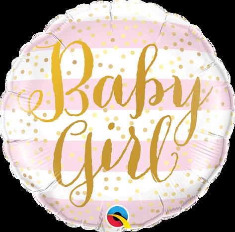 "18"" Baby Girl Stripes"