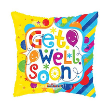 """18"""" Get Well Square"""