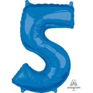 """34"""" Blue 5"""