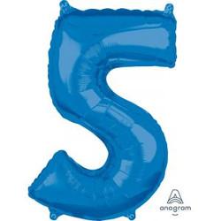 """36"""" Blue 5"""