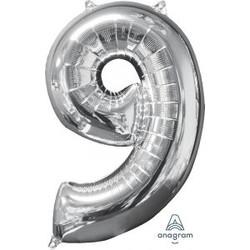 """36"""" Silver 9"""