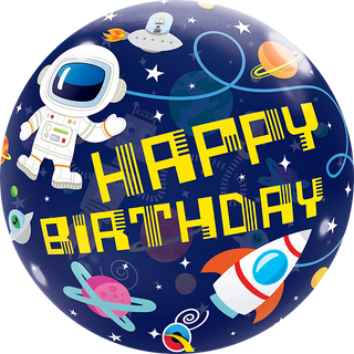 """22"""" Bubble - Outerspace Birthday"""