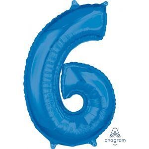 """34"""" Blue 6"""