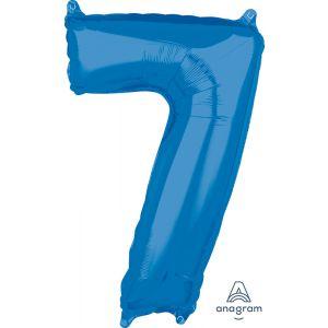"""34"""" Blue 7"""