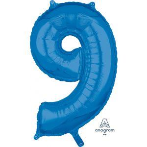 """34"""" Blue 9"""