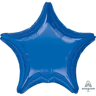 "18"" Dark Blue Star"