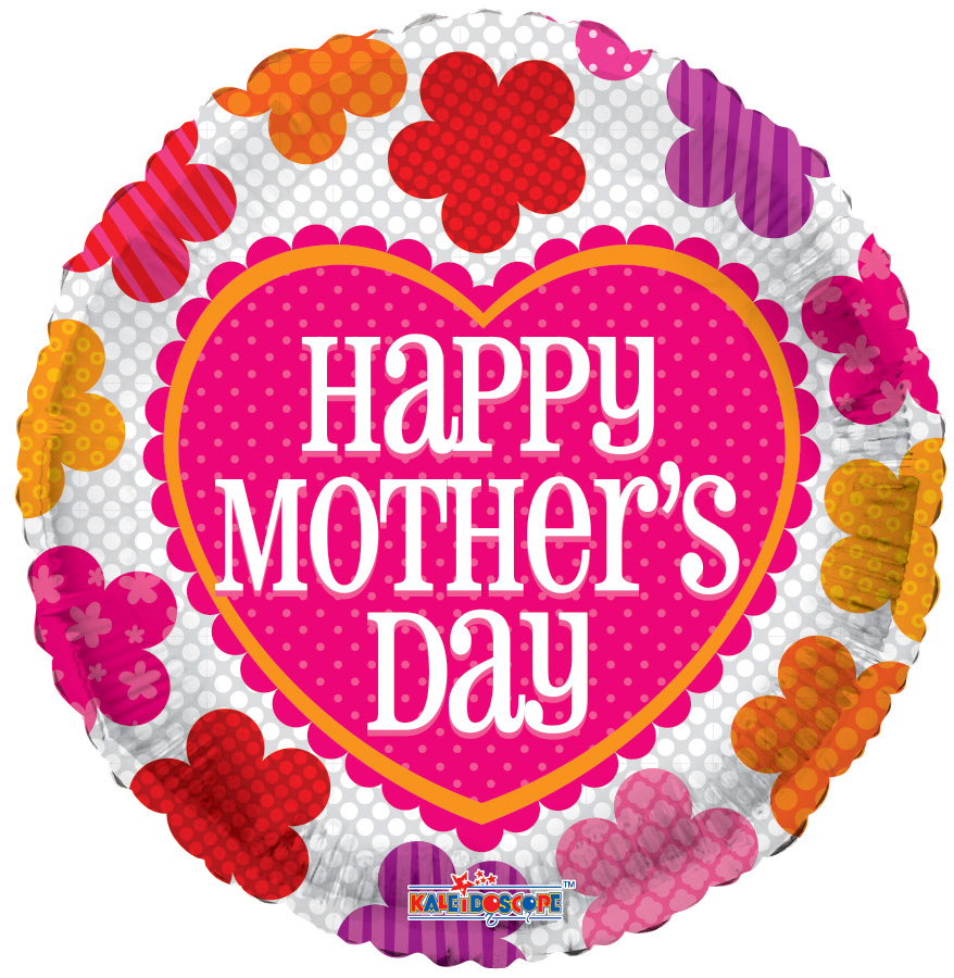 """18"""" Mother's Day Pattern Flowers"""