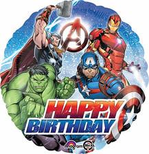 "18"" HBD Avengers"
