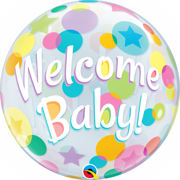 """22"""" Welcome Baby"""