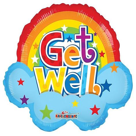 "18"" Get Well Rainbow"