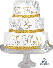 """28"""" To Have & To Hold Cake"""