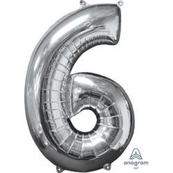 """36"""" Silver 6"""