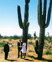 Wedding Officiant, Bride & Groom