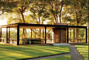 Phillip Johnson Glass House New Canaan