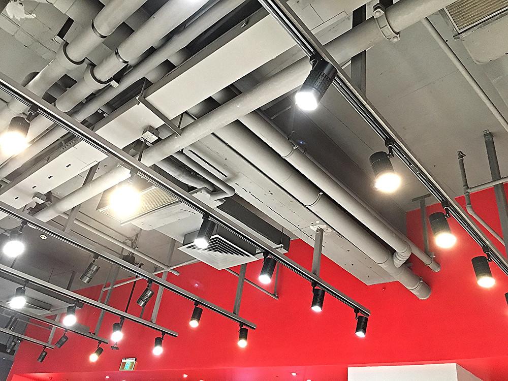 Verluisant Lighting Retail track lights