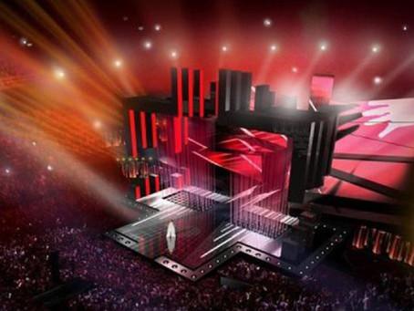 Евровидение-2016: Инновационная LED-стена на сцене позволит артистам двигаться внутри нее
