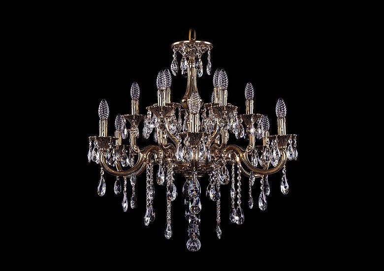 Bohemia Ivele Crystal 1716/6+6+3/265/B/GB