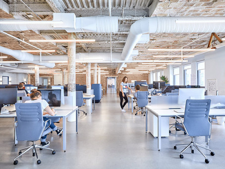 Кейс: Освещение офисных помещений компании Casper's в Нью-Иорке