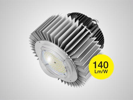 Verluisant представил сверхяркую серию промышленных светодиодных светильников колокол Verluisant Cla