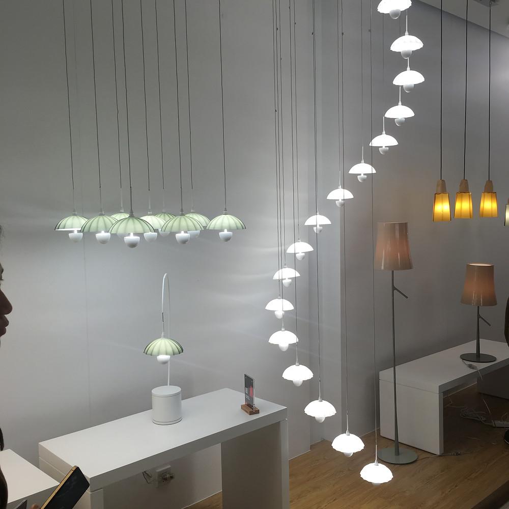 Дизайнерские светильники в форме зонтиков Verluisant