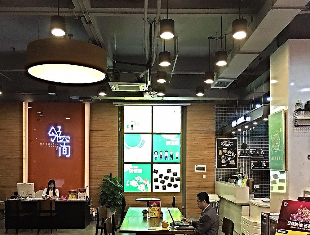 Verluisant Design Lighting Case studies Community plaza supermarket_Cafe