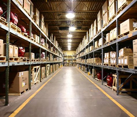 Освещение складских терминалов