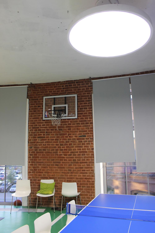 круглый подвесной светодиодный светильник 180 вт