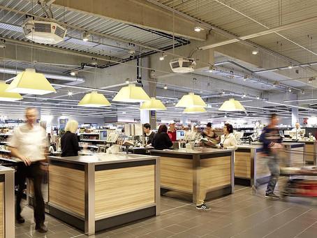 Как светильники для торговых залов Verluisant Retail увеличивают продажи с квадратного метра площади