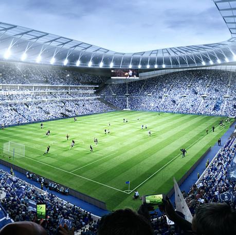 Стадионы и большие пространства