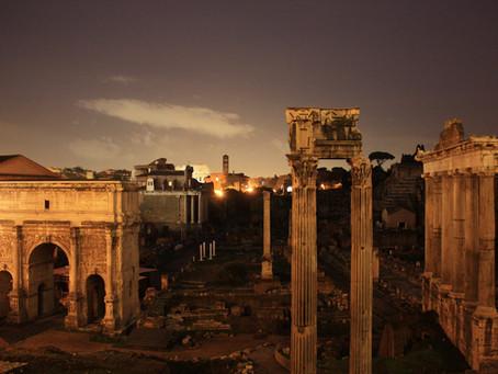 РуиныРимского форума будут освещать 450 светодиодных прожекторов